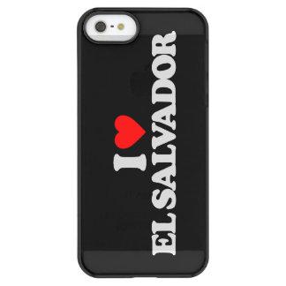 I LOVE EL SALVADOR PERMAFROST iPhone SE/5/5s CASE