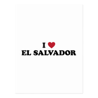 I Love El Salvador Postcard
