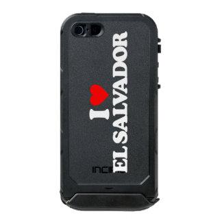 I LOVE EL SALVADOR WATERPROOF iPhone SE/5/5s CASE