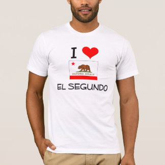 I Love EL SEGUNDO California T-Shirt