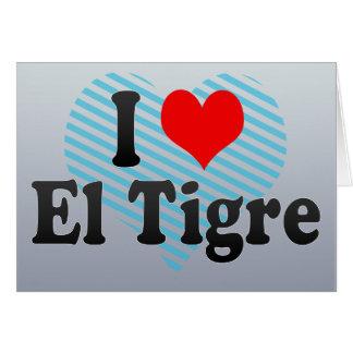 I Love El Tigre, Venezuela Card