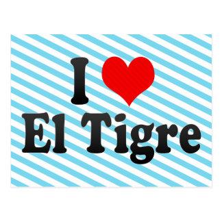 I Love El Tigre, Venezuela Postcard