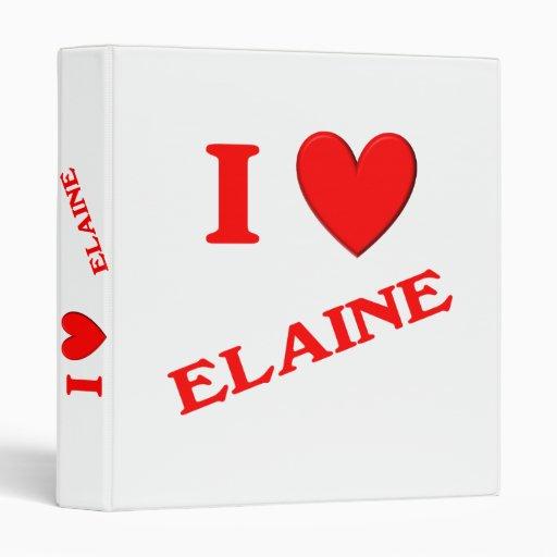 I Love Elaine Binder