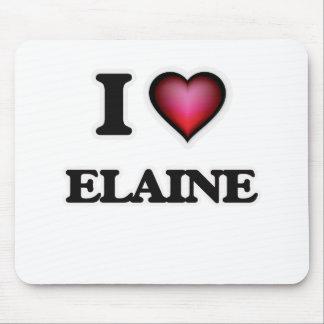 I Love Elaine Mouse Pad