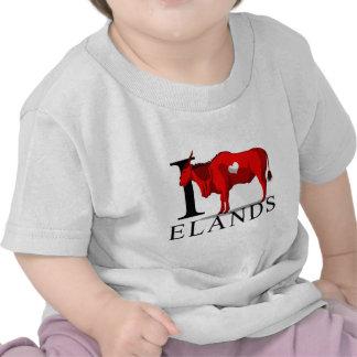 I Love Elands Baby's Tee Shirt