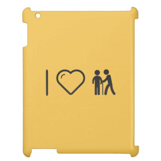 I Love Elderly Helpers Case For The iPad