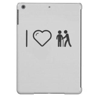 I Love Elderly Helpers iPad Air Cases