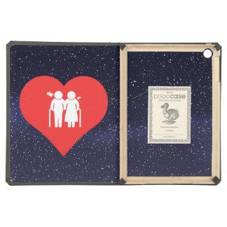 I Love elderly Modern Cover For iPad Air