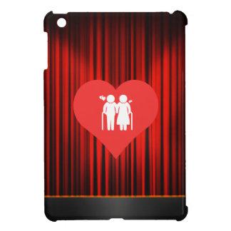 I Love elderly Modern iPad Mini Covers