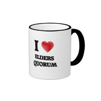 I love Elders Quorum Ringer Mug
