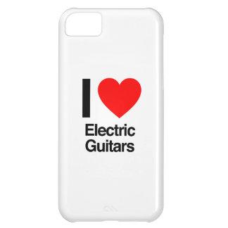 i love electric guitars iPhone 5C cover