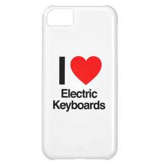 i love electric keyboards iPhone 5C cover
