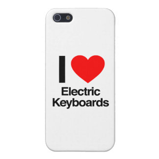 i love electric keyboards iPhone 5 cover