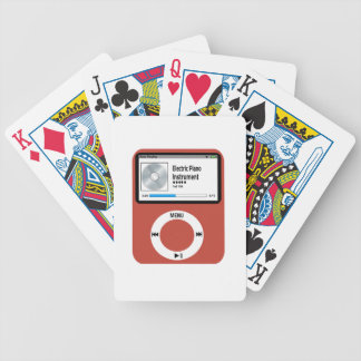 I love Electric Piano. Bicycle Playing Cards