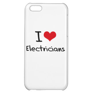 I love Electricians iPhone 5C Case