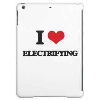 I love ELECTRIFYING iPad Air Cases
