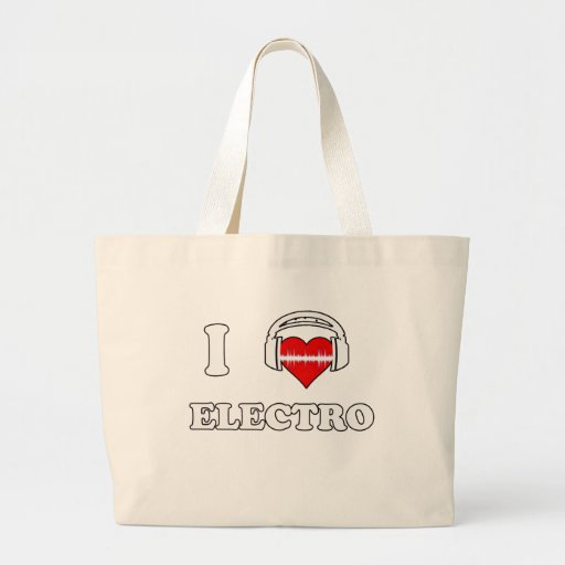 I Love Electro Bags