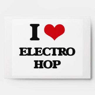 I Love ELECTRO HOP Envelopes