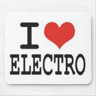 i love electro mouse pad