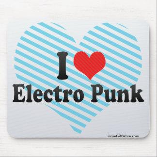 I Love Electro Punk Mouse Pad