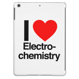 i love electrochemistry iPad air covers