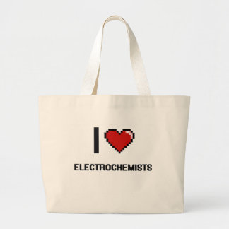 I love Electrochemists Jumbo Tote Bag