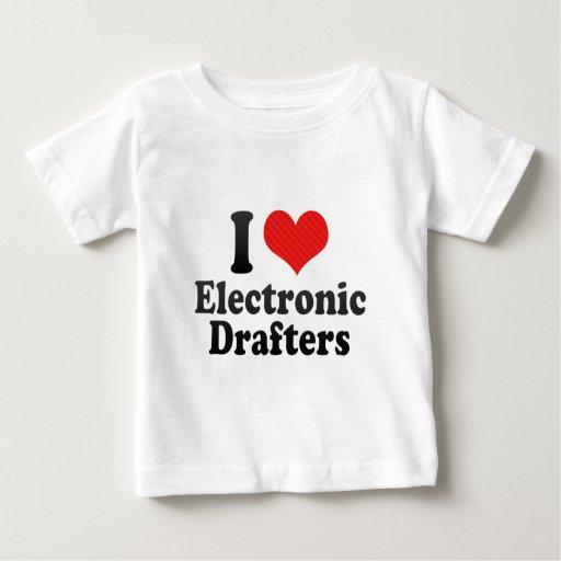 I Love Electronic Drafters Tshirt T-Shirt, Hoodie, Sweatshirt