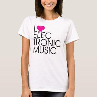 I Love Electronic Music T-Shirt