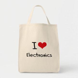 I love Electronics Bags