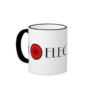I Love Electrons Ringer Mug