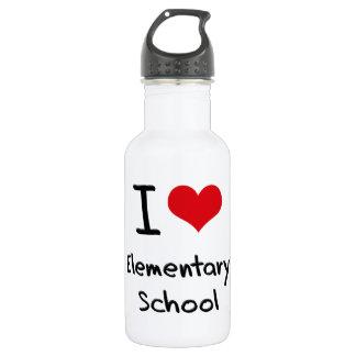I love Elementary School 18oz Water Bottle