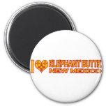 I Love Elephant Butte, NM Fridge Magnets