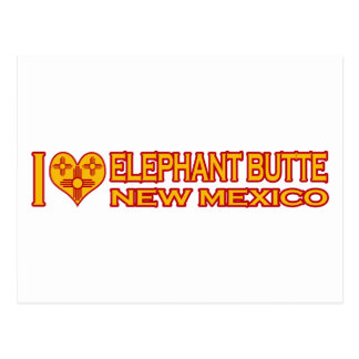 I Love Elephant Butte, NM Postcard