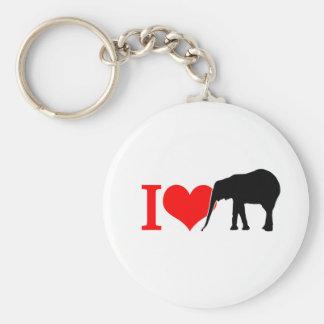 I love elephant keychain