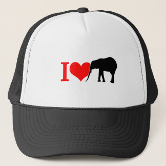 I love elephant trucker hat