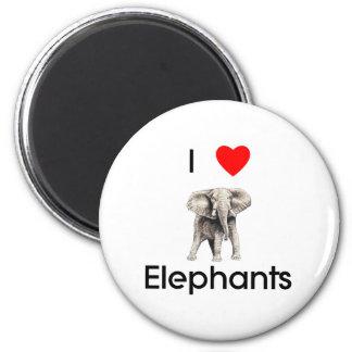 I love elephants Magnet
