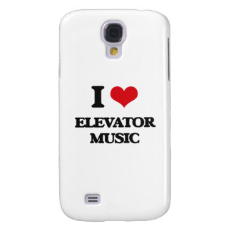 I Love ELEVATOR MUSIC Galaxy S4 Case