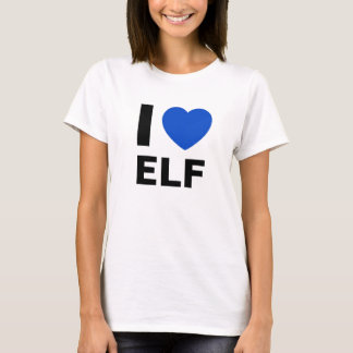 I Love Elf T Shirt