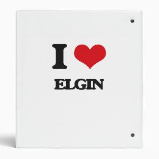 I love Elgin Binders