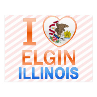 I Love Elgin, IL Postcard