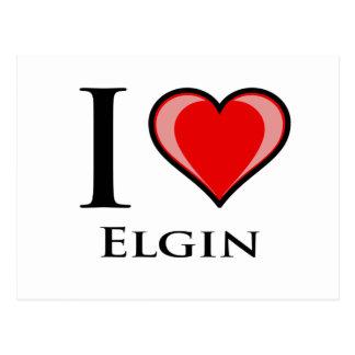 I Love Elgin Postcard