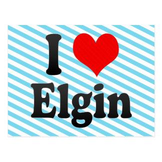 I Love Elgin, United States Postcard