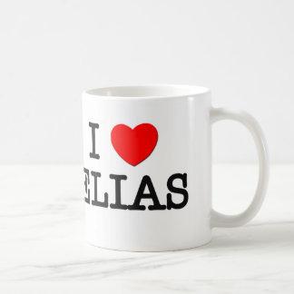 I Love Elias Coffee Mug