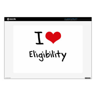 "I love Eligibility Decals For 15"" Laptops"