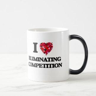 I love ELIMINATING COMPETITION 11 Oz Magic Heat Color-Changing Coffee Mug