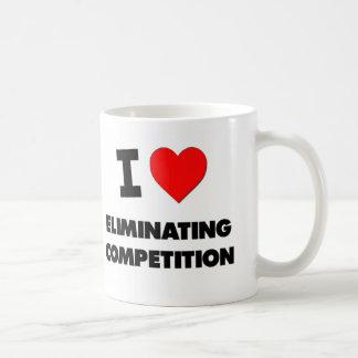 I love Eliminating Competition Classic White Coffee Mug