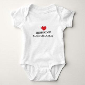 I Love Elimination Communication Baby Bodysuit