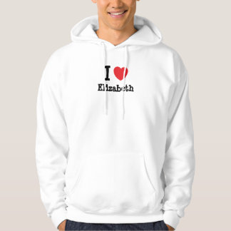I love Elizabeth heart T-Shirt
