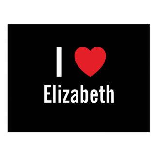 I love Elizabeth Postcard