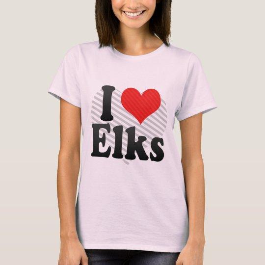 I Love Elks T-Shirt